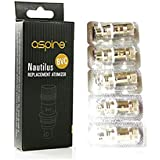 Aspire Coils - Genuine Aspire Nautilus BVC Coils 1.8 Ohm Pack of 5