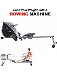Max Strength Folding Rowing Machine Home Gym Rower Fitness Cardio