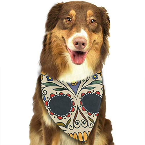 t Bandana Washable Reversible Triangle Bibs Scarf - Kerchief for Small/Medium/Large Dogs & Cats ()