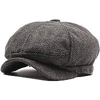 Fácil de Usar Hombres y Mujeres Sombrero Octogonal de otoño e Invierno  Sombrero de Gorro de c25acfc8d04