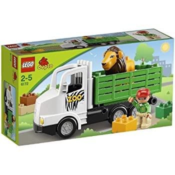 Lego Duplo 6172 Zoo Truck Amazon Co Uk Toys Amp Games