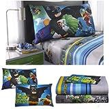 LEGO Batman Kinder Twin Betten-Bettlaken-Set