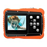 Kidult Underwater Action Camera for kids with 2.0'' TFT LCD Screen HD720p 12MP