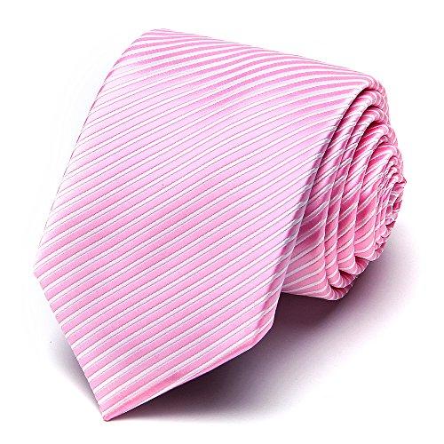 XIANGUO Herren Krawatte Fashion Streifen Muster Krawatte für Casual & Arbeitskleidung (Herren Hochzeit Tragen Casual)