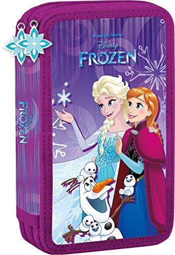 Disney frozen - matita scuola bambini caso - cassa di matita - pieni - 26 pezzi