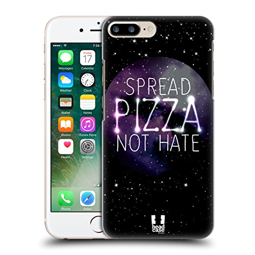 Head Case Designs Einhorn Nebel Kunst Ruckseite Hülle für Apple iPhone 5 / 5s / SE Pizza