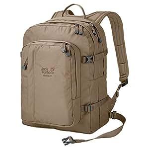 Jack Wolfskin Unisex Berkeley Bookpack Daypack Rucksack, Beige, 45x37x3 cm