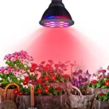 Top-Longer Lampada Faretto LED per Piante 24W, Coltiva le Luci E27 Growing Bulbs per Giardino / Serra Idroponica Spettro Interno Growing Lamps per Coltivare piante