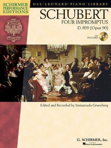 Preisvergleich Produktbild Schubert - Four Impromptus, D. 899 (0p. 90) (Schirmer Performance Editions) (2009-04-01)