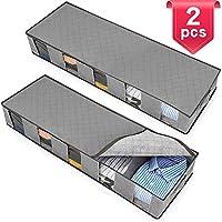 NORTHERN BROTHERS Underbed Storage Bags Containers Clothes Storage Under Bed Storage Bag for Clothes