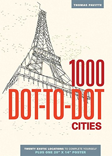 1000 Dot-to-Dot: Cities (Thunder Board-spiel)