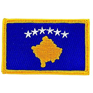Kosovo Kosovar Flag embroidered Patch Badge Iron-On Badge Backpack