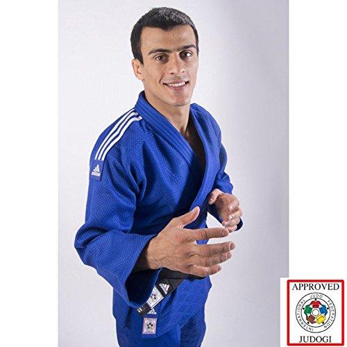Adidas Slim Fit II IJF Judo Gi Blau