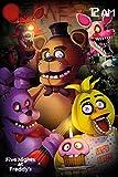 Maxi Poster 61 x 91,5 cm Five Nights At Freddy's Group Plastifié