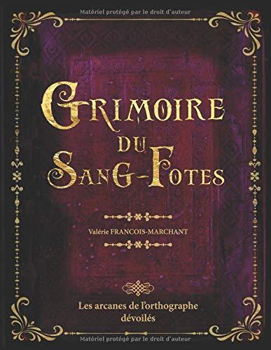 GRIMOIRE DU SANG-FOTES: Les arcanes de l'orthographe dévoilés - 52 règles d'orthographe illustrées