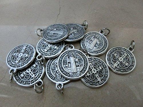 san-benedetto-saint-benedict-con-anello-argento-10-medaglie