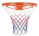 Best Basketball Nets - Rucanor Basketball Ring Net - Orange/White, 45cm Review