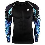 zipravs MMA Kompressions-Shirt, langärmelig L ZCDS-070