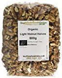 Buy Whole Foods Online Organic Walnuts Light Halves 500 g