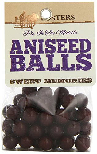 Fosters Aniseed Balls 110 g (Pack of 8)
