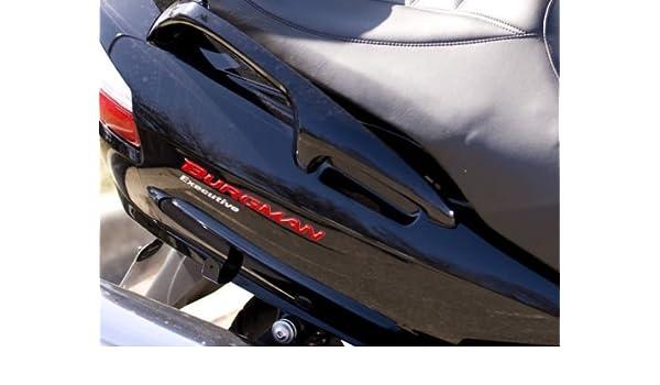 2 Adh/ésifs R/ésine 3D Paire /Écrit Burgman 250-400-650 pour Scooter Suzuki New Rouge
