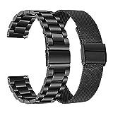 TRUMiRR Compatible avec Samsung Galaxy Watch 46mm/Gear S3 Frontier/Gear S3 Classic...