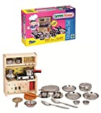Best Wooden Kitchens For Kids - HALO NATION Kitchen Set Indian Non Toxic Review