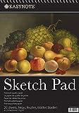 EasyNote A3 Künstler Skizzenblock - Premium-Qualität 170g Papier - Spiralbindung - zum Zeichnen/Skizzieren