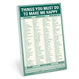 Knock Knock Things You Must Do to Make Me Happy Pad by Knock Knock (2011-03-01)
