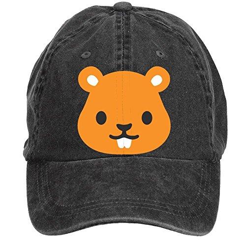 Arnoldo Blacksjd Unisex Chipmunk Prairie Dog Emoji Adjustable Washed Hat Baseball Caps XXX-Large