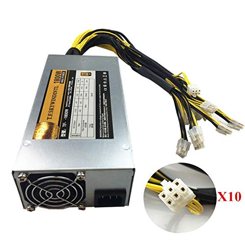 DIPU WULIAN 1800W ATX PSU BTC LTC Dash BITMAIN APW7 1800W Power Supply For  Antminer S9 S9i Z9 L3+ D3 T9+ E3 Innosilicon A9 D9 A10 Eth PSU