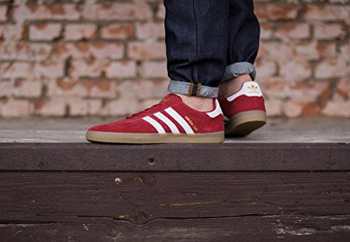 adidas 350 chaussures rouge blanc