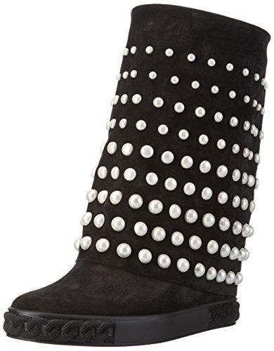 Casadei2S707E080 - Stivali a metà polpaccio con imbottitura leggera Donna , Nero (Schwarz (Black Ooo)), 38