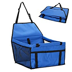 e : Car-styling Folding Oxford Cloth Pet Travel Carrier Seat Pad Bag Safe Kennel Puppy Handbag for Small & Medium Size Dog Cat