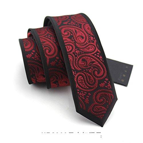 Cravates d'affaires d'habillage/british academy vent tie/mode étroite de version