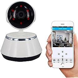Dome Kamera Indoor Wlan PTZ - IP Cam Nas / IP Kamera App - Sicherheitskamera Hd, Wifi Kamera Ir Smart Cloud Remote Viewing & Unterstützung Zwei-Wege-Gegensprechanlage