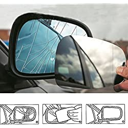 HON-Civ-RHS Wing Mirror Glass, Convex, UK Driver Side , For Car Year ( 2001 --> 2005 )