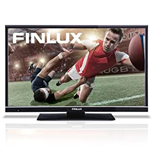 Finlux 32H6072-D 32 Inch LED Widescreen HD Ready TV with Freeview & USB PVR Recording Black (New for 2013) (discontinued by manufacturer)