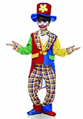 Idea Regalo - Rubie's IT30100-M - Clown Fiorello Costume, Taglia M