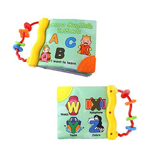 Babys-Erstes-Wort-Buch, weiches Stoff-Kognitionsbuch, Lernen & Aktivität, Spielzeug für frühes Lernen Letter