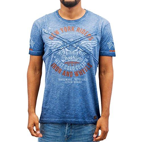Cipo & Baxx Uomo Maglieria / T-shirt Fly Indaco
