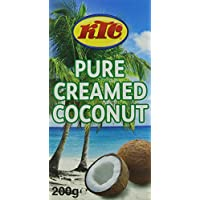 KTC Creamed Coconut 200 g (Pack of 40)