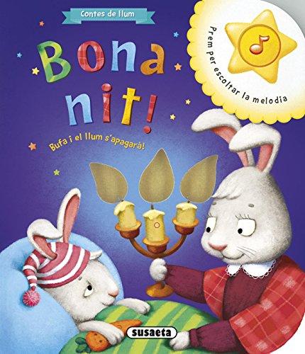 Contes de llum. Bona nit ### No hi ha res millor que quedar-se adormit mentre la mare ens llegeix un conte. Gaudeix dels millors moments amb aquest preciós llibre lluminós que inclou a més una melodia. Col·lecció: contes de llum. Enquadernació: Llibr...