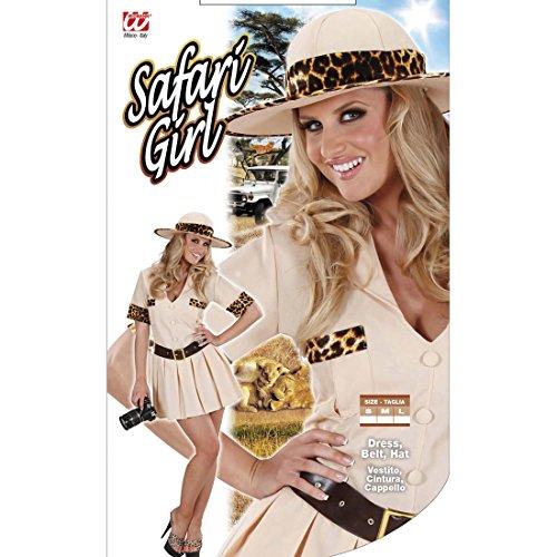 Dschungel Damenkostüm Wildnis Safarikostüm M 38/40 Forscher Dschungelkostüm Sexy Safari Kostüm Karnevalskostüme Damen Urwald Entdecker Faschingskostüm Pfadfinder Afrika Kleid (Dschungel Safari Kostüm)