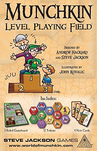 Steve Jackson Games 5559 - Munchkin Level Playing Field Brettspiele (Munchkin-brettspiel)