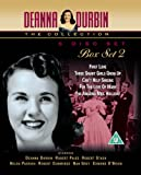 Deanna Durbin Box Set 2. [DVD] -First Love, Three Smart Girls Grow Up, Can t Help Singing, For the Love of Mary and The Amazing Mrs. Holiday