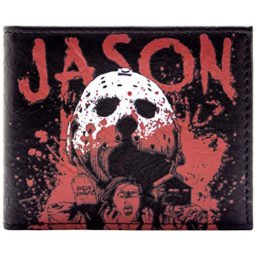 Friday The 13th Maskiert Jason Schwarz Portemonnaie -