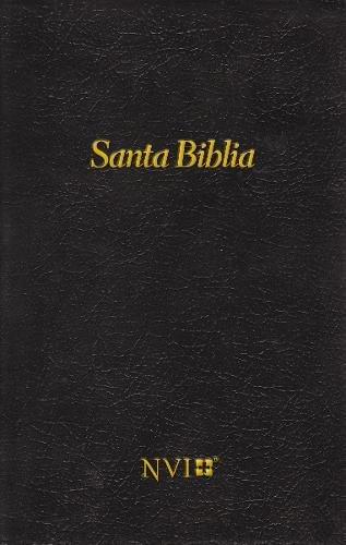 Santa Biblia Nvi Tapa Dura Negra Spanish Edition