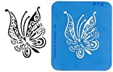 UNLIMITED STENCILS 1 XL Airbrush Tattoo Schablone SCHMETTERLING # 78