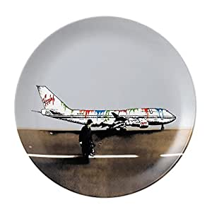 Street Art - Nick Walker by Royal Doulton 27cm Vandal Airways Plate, Ltd Ed